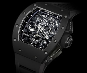 Richard Mille RM 011 Black Phantom Automatic Flyback Chronograp