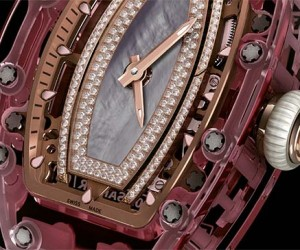 Richard Milles New Automatic Pink Sapphire Watch Will Cost You 1 Million