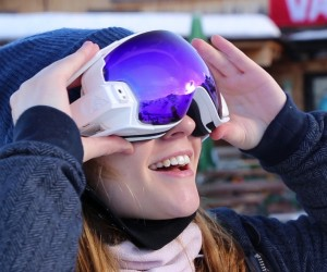 RideOn: The First True AR Goggles for Snow Sports