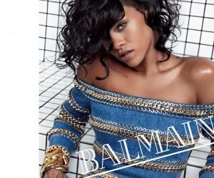 Rihanna For Balmain Spring Summer 2014 Campaign