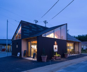 Riku Cafe by Naruse Inokuma Architects