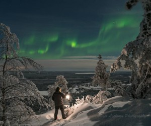 Risto Leskinen Captures Amazing Northern Lights in Finland