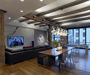 River North Loft in Chicago  Foster Dale Architects