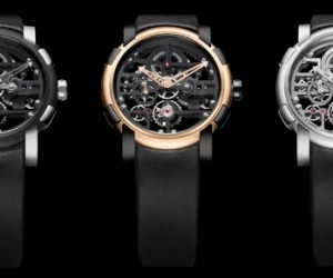 RJ-Romain Jerome Orbital Skylab Skeleton Timepiece