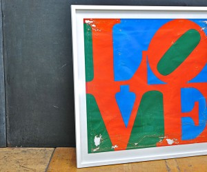 Robert Indiana LOVE Serigraph For Sale