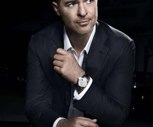 Robin Thicke Becomes First Harry Winston Brand Ambassador