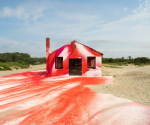 Rockaway Installation by Katharina Grosse