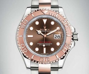 Rolex Unveils A Rose Gold Yacht-Master Watch