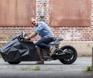 Rolf Reick Customizes BMW Motorrads C evolution