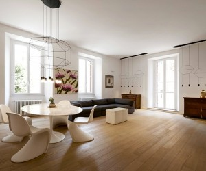 Roman Apartment by Carola Vannini Architecture