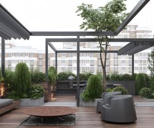Roof Garden by Bezmirno Studio