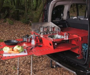 RoomBox: Modular Camper Car Kit