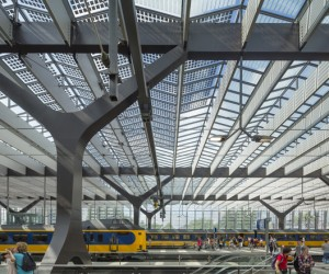 Rotterdam Centraal Station by Team CS