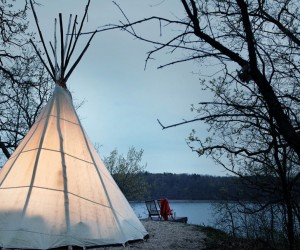 Rough-Luxe Teepees from Camp Wandawega