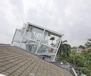 Rumah Miring by Budi Pradono Architects, Jakarta