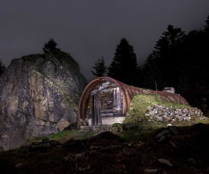 Rural Huts And Cabins by Tristan Pereira