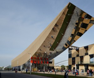 Russia Pavilion for Expo Milano 2015 by SPEECH