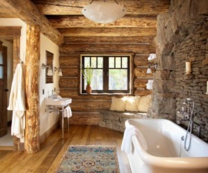 Rustic bathroom designs for the modern home
