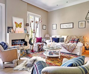 Rustic Chic in a home near Madrid