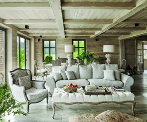 Rustic Chic in Poland