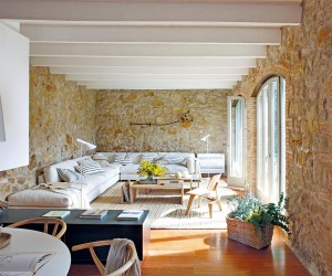 Rustic Contemporary Home in Girona, Spain
