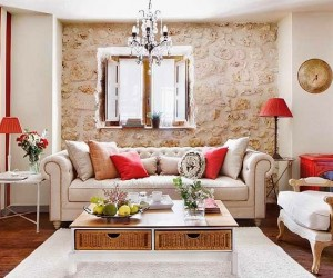 Rustic Delight in a small apartment