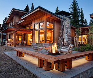 Rustic Mid-Century Home with Spectacular Mountain Views
