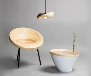 Sagano: Sleek Bamboo Furniture