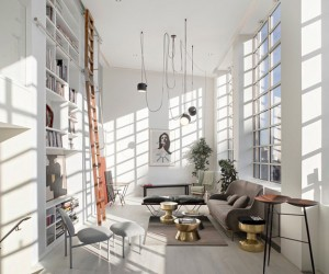 Saint Martins Lofts in London by Darling Associates