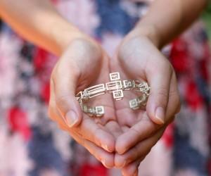 Salvador Dali Cross Bracelet - 3D Printing