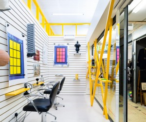 Sam Jacob designs Peckham Hair Salon and Art Gallery