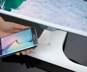 Samsung Wireless Charging Monitor