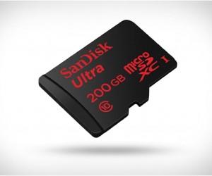 Sandisk 200GB MicroSD