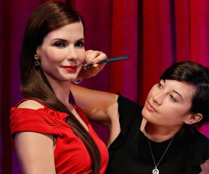 Sandra Bullock Immortalized In Wax