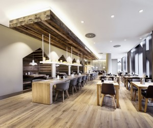 Sansibar by Breuninger restaurant by Dittel Architekten