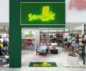 Sanuk Retail Store Design by I-Dea Catalysts