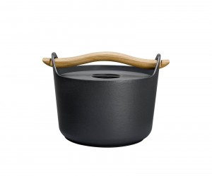 Sarpaneva Cast Iron Pot 3.0 l by Timo Sarpaneva for Iittala