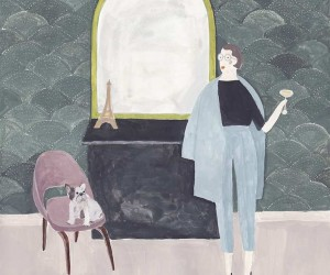 Sartorial Paintings by Sainte Maria