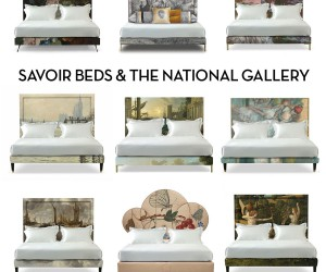 Savoir and The National Gallery Bring Art to Bed