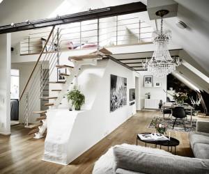 Scandinavian Loft in Sweden