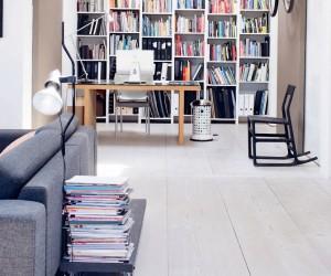 Grey Tones, Natural Objects | Scandinavian Apartment