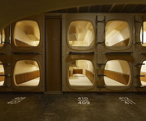Schemata Designs C Sauna  Capsule Hotel in Tokyo