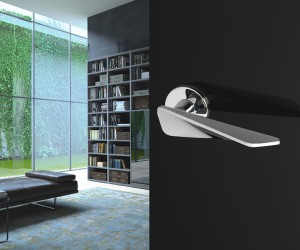 Sculptural and architectural shapes for Intona, the new Manital handle