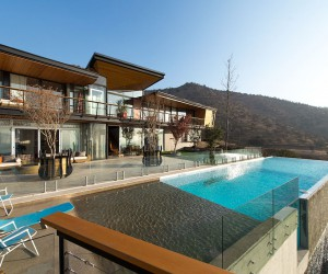 Sculptural Design at Its Spectacular Best: Luxurious Mountain Home in Chile