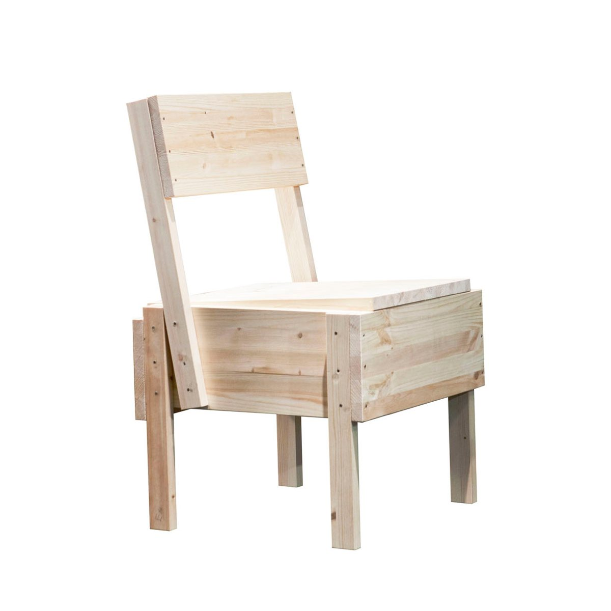 sedia 1 chair by enzo mari for artek