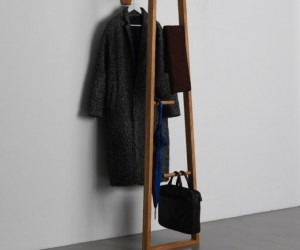 See Well-Crafted Coat Rack Wood Garderobenstnder Holz