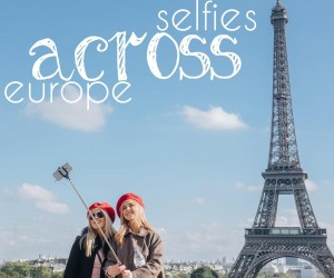 Selfies Across Europe by Chelsea London