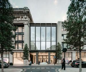 Selfridges new Duke Street entrance by David Chipperfield