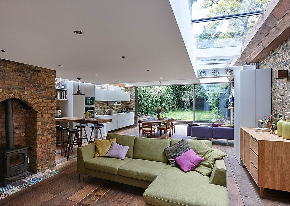 Semi-Detached London Terrace House Gets a Bright Modern Extension
