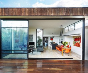 Sensible Alterations Enliven Small, Semi-Detached Melbourne House